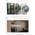 Fönsterdekor och insynsskydd till Make Up Store samt Interxion