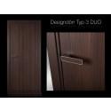 Design innerdörr från Ekstrands - TYP 3 DUO