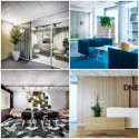 På Sveriges snyggaste kontor kommer växtinredningen från Hässelby Blommor