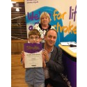 9-year-old stroke survivor receives regional recognition