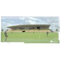 Förslag på ny fotbollsarena i Falkenberg