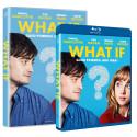 Komedien WHAT IF med Daniel Radcliffe, Zoe Kazan og Adam Driver er ude på alle formater d. 8 Januar