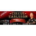 Cirkus Karlsson kommer till XL-BYGG Tierp 8/9