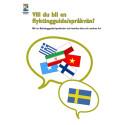 Rikskonferens om integrationsprojektet flyktingguide/språkvän i Eskilstuna