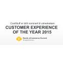CoolStuff er blitt nominert til utmerkelsen «Customer Experience of the Year 2015» av Nordic eCommerce Knowledge.
