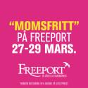 Momsfritt* 27-29 mars 2015