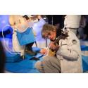 Charle Sexton spelar isbanjo