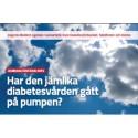 Almedalen – Har den jämlika diabetesvården gått på pumpen?