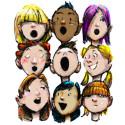 Skolbarn sjunger allsångsopera på NorrlandsOperan