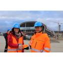 Leder for en dag på Oslo Lufthavn