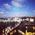 Utsiktsbild från terrassen