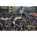 Tiotusentals göteborgare demonstrerade för demokrati