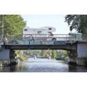 Västra kanalen i Härnösand är stängd för all båttrafik 9-10 juni