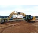 Cat 323E gravemaskinen hviler ikke på laurbærrene hos Michael Laurberg Entreprenør- og Maskinudlejning
