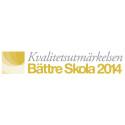 Lucksta förskolor tilldelas Kvalitetsutmärkelsen Bättre Skola 2014