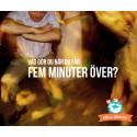 Vad gör du när du när du får fem minuter över?
