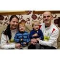 Parents running London Marathon three-legged for their son
