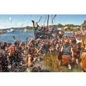 Vikingefest i galiciske Catoira