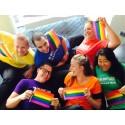 Regnbågen intar Clarion Hotel under Stockholm Pride