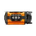 Ricoh WG-1M actionkamera orange från sidan II