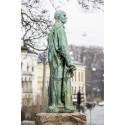 Rodin-skulptur skadet av forurensning