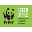 Green Office -merkki Maanmittauslaitoksen Pasilan palvelupisteelle