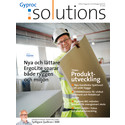 Kundtidningen Gyproc Solutions, tema Produktutveckling