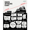 DDoS attacks proving costly for businesses