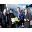 London Luton Airport welcomes new carrier as first VLM flight to Waterford takes to the skies