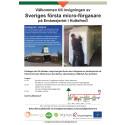 Inbjudan invigning microförgasare i Hultsfred 28 okt 2015