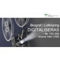 Biograf i Lidköping digitaliseras - får 150 000 kronor från VGR