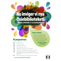 Program invigning av Oxiebiblioteket
