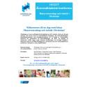 Konferens om naturvetenskap och teknik i förskolan - program
