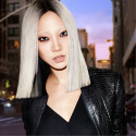 MODEL SOO JOO PARK GOES TO EXTREME LENGTHS WITH REDKEN