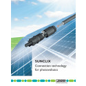 Kontakter och kablage för solenergi