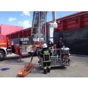 Stor redningsøvelse på Avedøreværket
