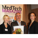CEO of Diabetes Tools, Anders Weilandt, accepts Swedish MedTech Company of the Year award (October 2014)