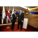 "UK Chief Secretary to the Treasury, Danny Alexander, visits Eutelsat to discuss ground-breaking ""Eutelsat Quantum"" class satellite"