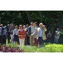 Kungen invigde idag årets trädgårdshändelse på Solliden