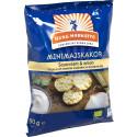 Kung Markatta utökar sitt snackssortiment med ekologiska Minimajskakor Sourcream & onion
