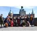 Renässans- och medeltidshelg på Kalmar Slott 25 - 26 juli 2015.