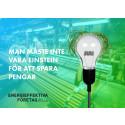 Storsatsning för att öka företagens energieffektivitet och lönsamhet