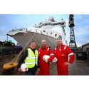 Excitement builds as Stena Superfast X arrival draws near