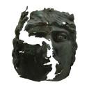 Unik bronsmask visas på Fornsalen