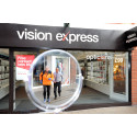 'Marathon man' urges the public to have routine eye tests after life-threatening tumour found by Vision Express