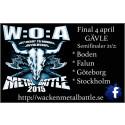 Wacken Metal Battle Sweden 2015 är öppen för ansökningar