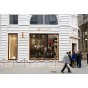 Tiger of Sweden öppnar flaggskeppsbutik i London
