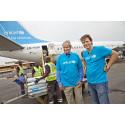 Norwegian ja UNICEF lentävät hätäapua Syyrian pakolaisille