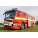 Scania P 360 CrewCab på brandbilmesse i Herning