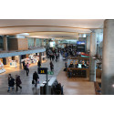 Oslo Airport notes slight upturn
